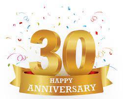 April 2021 - 30th Anniversary